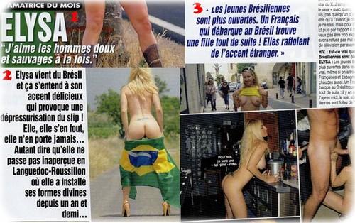hotvideo41 Elysa: Reportagem para a Revista Hot Vidéo