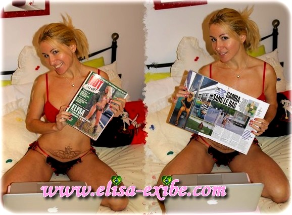 hotvideo52 Elysa: Reportagem para a Revista Hot Vidéo