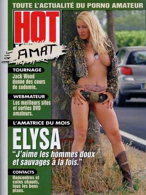 hotvideop1 Elysa: Reportagem para a Revista Hot Vidéo