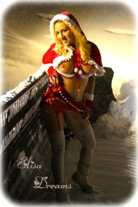 neige tite Mamãe Noel Sexy Nos Alpes