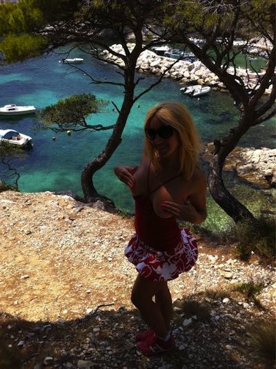 Elisa calanques1 De férias em Marselha e Cannes