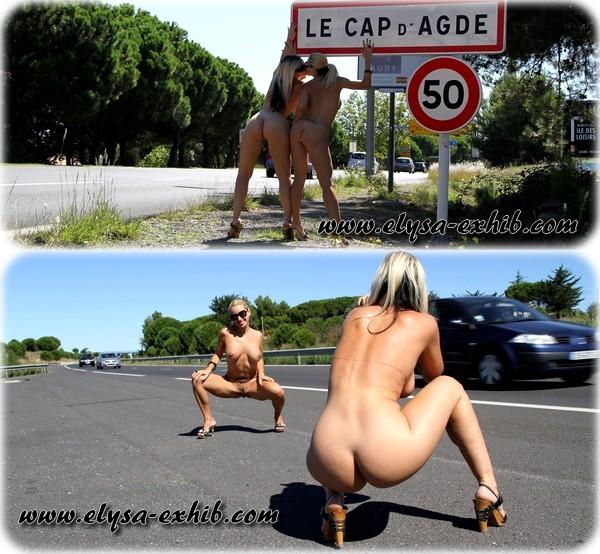 foto13 Exibição em Público em Cap dAgde