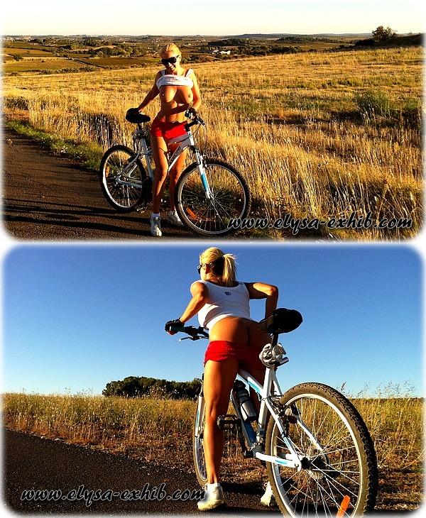 foto23 Sexy andando de Bicicleta