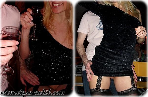 pic 2 Dançando Em Um Bar com Um Micro Vestido