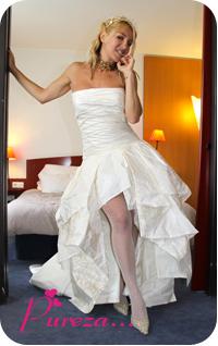 tite1 Vestida de Noiva...